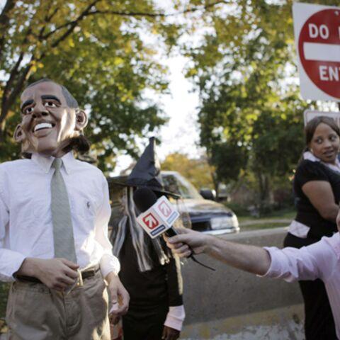J-3: les costumes des candidats à la Maison Blanche ont fait fureur pour Halloween