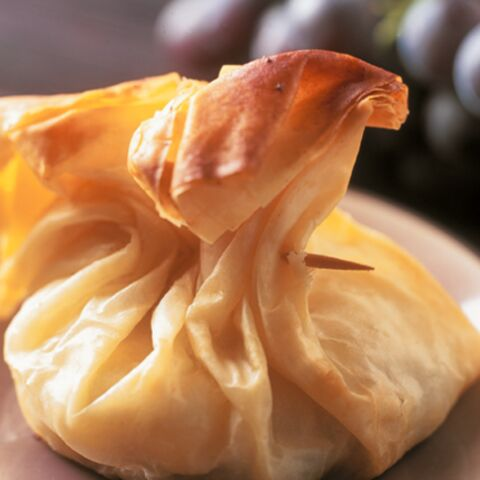 Aumônières au raisin