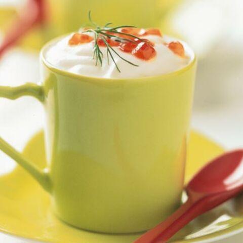 Cappuccinos de topinambour