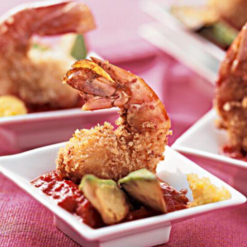 Crevettes croustillantes