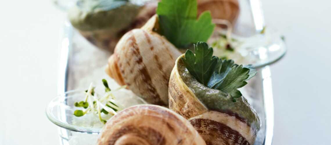 Mousse d'escargots