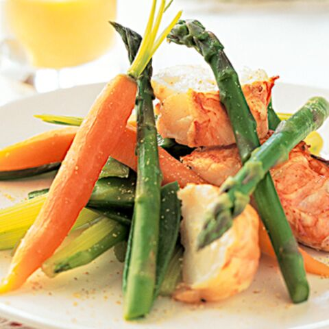 Salade de langouste primeur