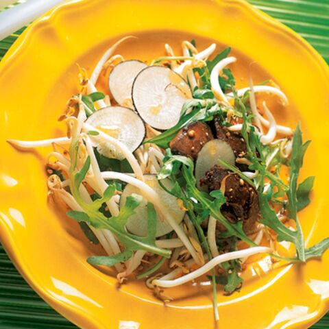 Salade légère et stimulante