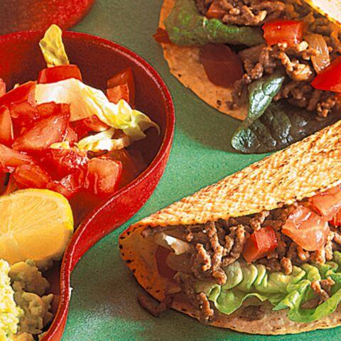 Tacos à la viande