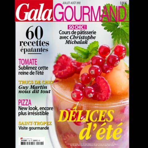 Gala Gourmand juillet-août 2012