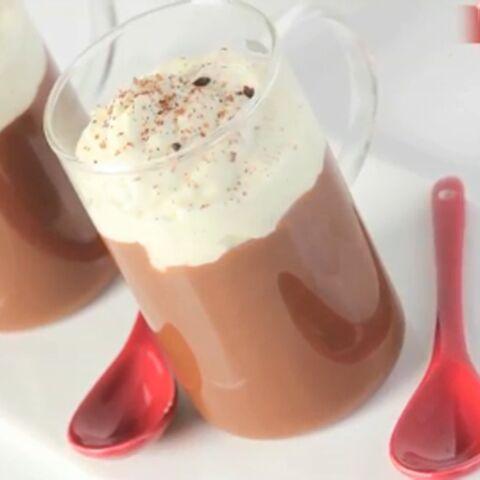 Vidéo – La recette du crémeux au chocolat