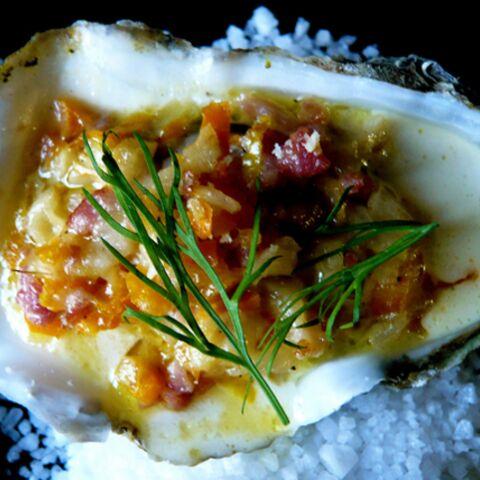 Barbara Schulz: huîtres chaudes