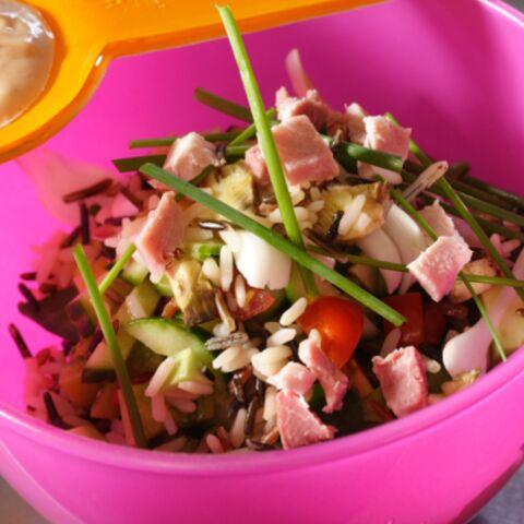 Julien Doré: salade de riz