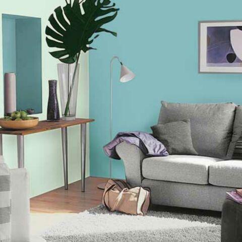 Des couleurs dans la maison