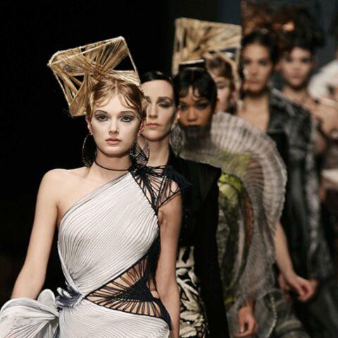 Fashion week: Gaultier Paris, Elie Saab, Valentino et Franck Sorbier