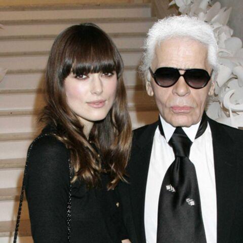 Défilé Chanel: Karl Lagerfeld, des stars et des jeunes filles en fleurs