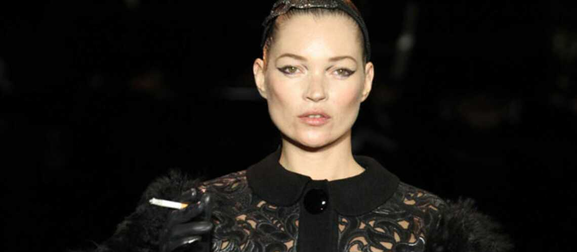 Kate Moss: la chef défile chez Louis Vuitton