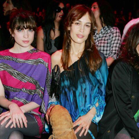 Emmanuelle Béart, Dolores Chaplin, Cécile Cassel, hautes en couleur chez Ungaro