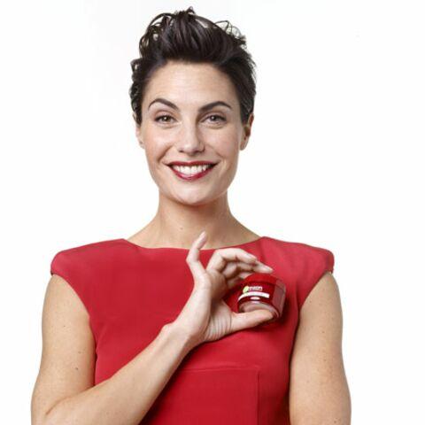 Alessandra Sublet sourire de star pour Garnier