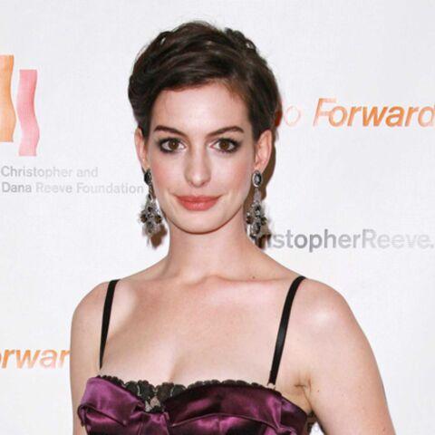 Anne Hathaway, nouvelle égérie de Lancôme