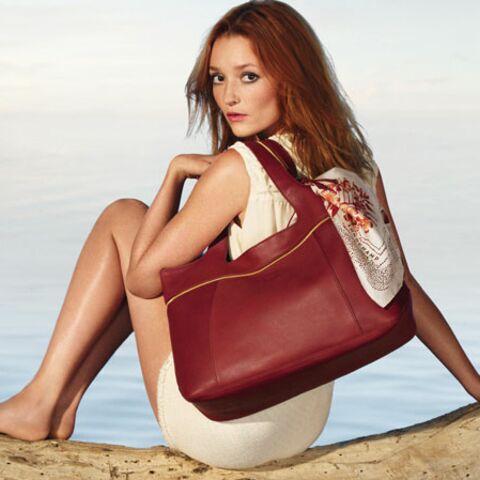Photos – Audrey Marnay shootée par Demarchelier pour Longchamp