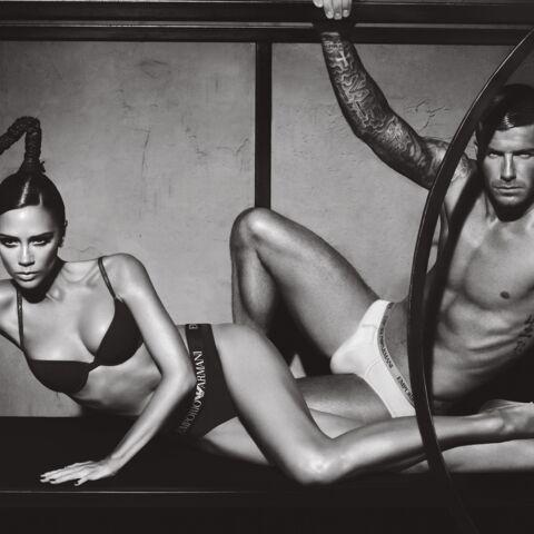 REGARDEZ: David et Victoria Beckham se la jouent pour Armani