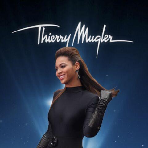 Beyoncé, le nouvel ange de Thierry Mugler