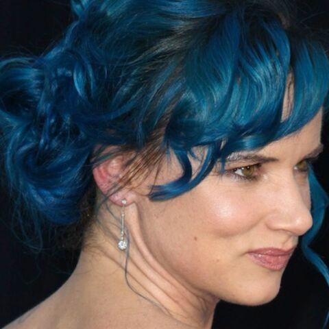 La tendance est aux cheveux bleus!
