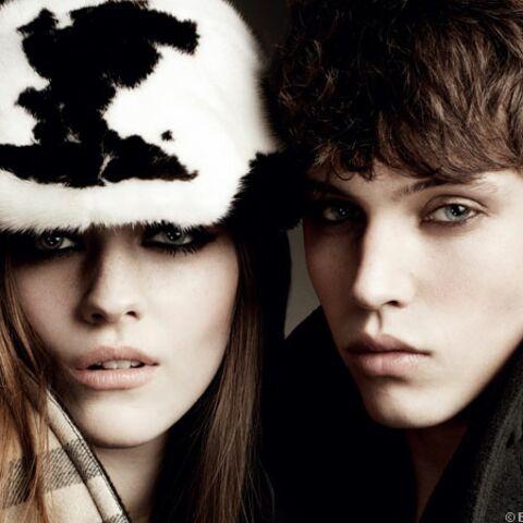 Amber Anderson et Jake Cooper: égéries Burberry