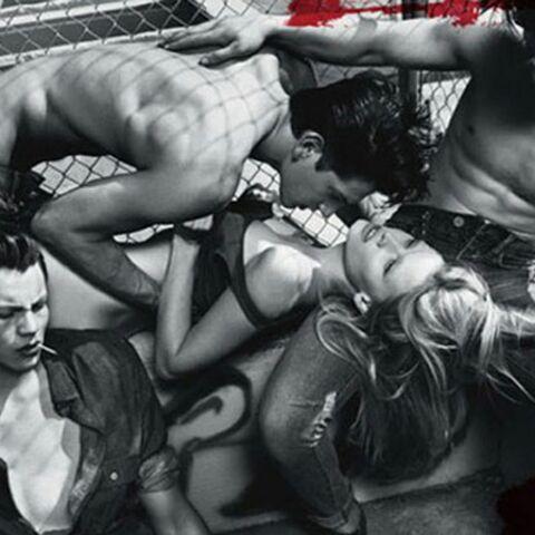 Un cliché de la campagne Calvin Klein interdit en Australie