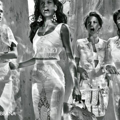 Femmes en colère vs pêcheurs sexys chez Dolce & Gabbana