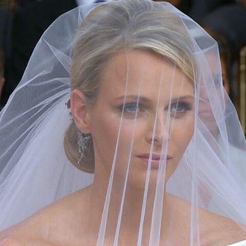 Le beauty look de Charlène Grimaldi, mariée glamour