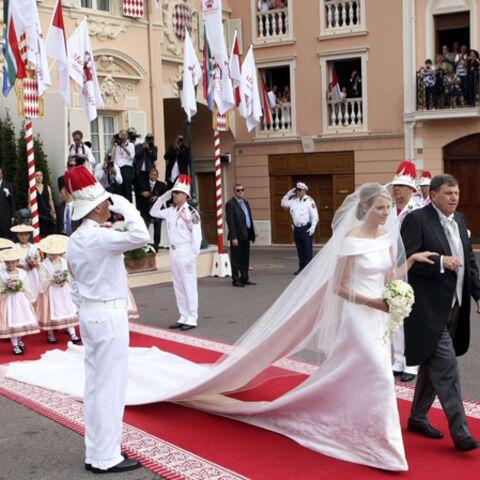 Charlène Grimaldi: vive la mariée en Armani!
