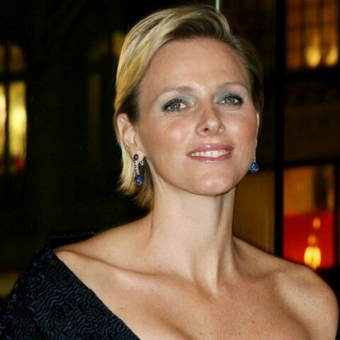 Charlène Wittstock inconditionnelle d'Armani