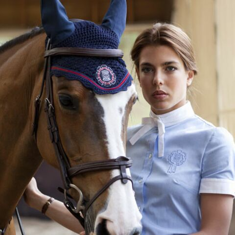 Mode – A cheval avec Charlotte Casiraghi
