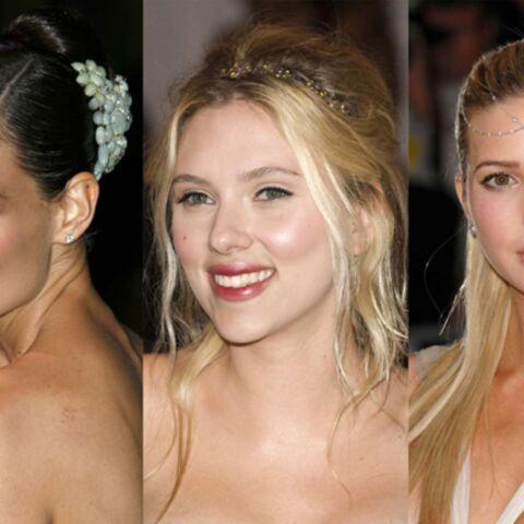 Scarlett Johansson, Katie Holmes… De l'or dans les cheveux.