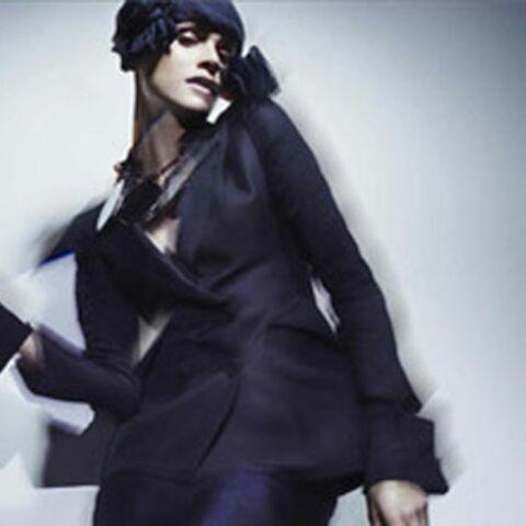 Elisa Sednaoui pour Armani, premières images