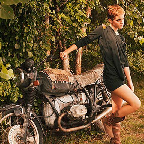 Emma Watson, sauvageonne sexy