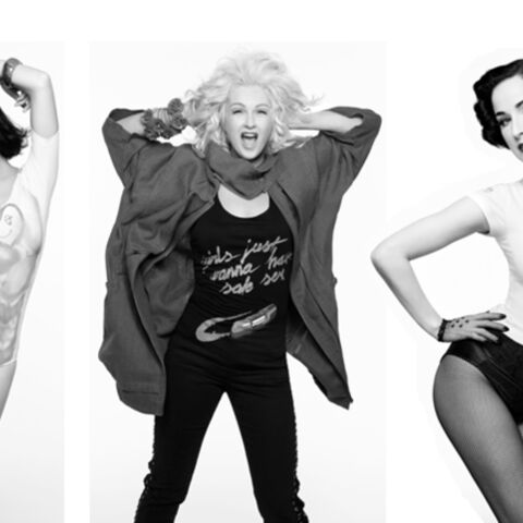 Cyndi Lauper, Dita Von Teese, Katy Perry: glamour contre le SIDA