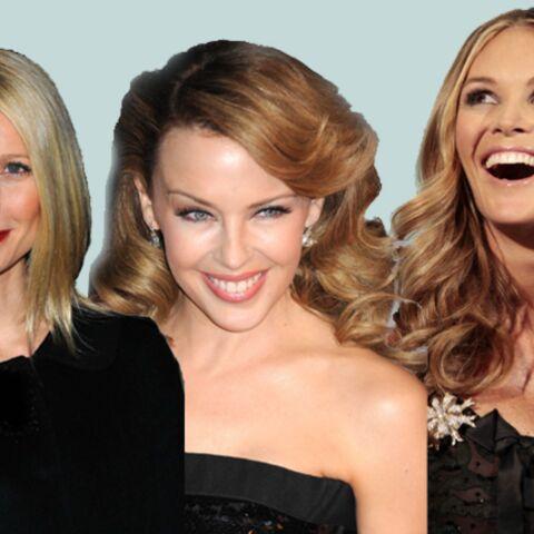 Gwyneth Paltrow, Kylie Minogue, Elle McPherson… Leur astuce cheveux au poil!