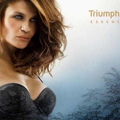 Helena Christensen, Lily Cole… Les tops posent pour Triumph