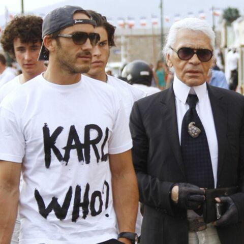 Karl Lagerfeld superstar
