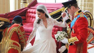 Kate Middleton: sa robe exposée à Buckingham!