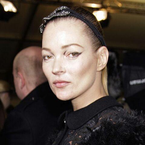 Kate Moss reine de beauté