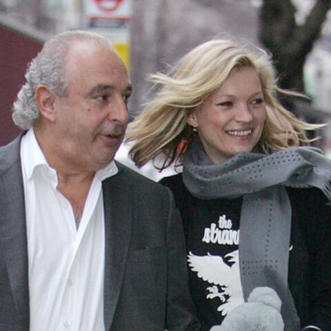 Kate Moss reste fidèle à Burberry