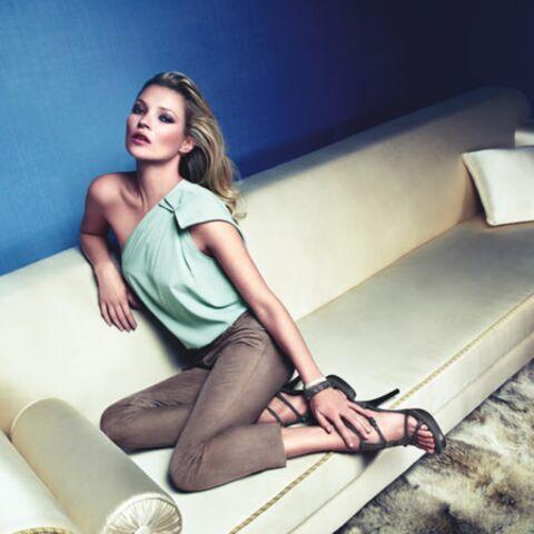 Kate Moss: poser, ça la botte!