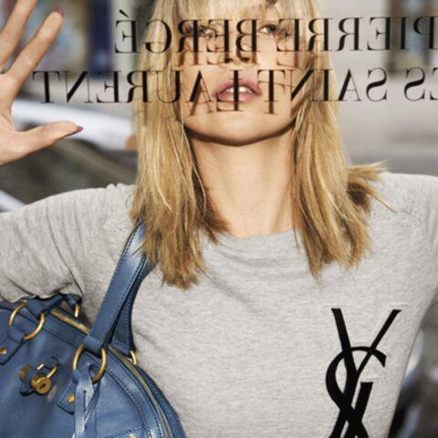 Kate Moss manifeste pour Yves Saint Laurent