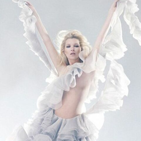 Kate Moss rend hommage à Alexander McQueen