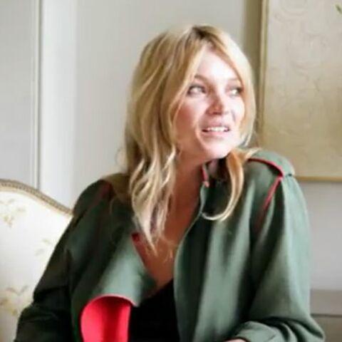 Vidéo – Kate Moss, une mariée comme les autres