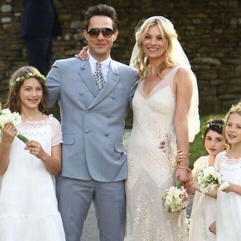 Kate Moss et Jamie Hince, mariés chics et branchés