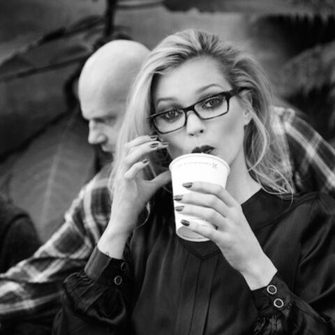 Backstage: Kate Moss pour Vogue Eyewear