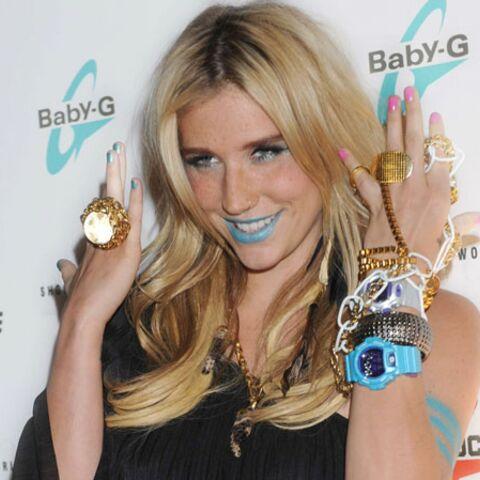 Kesha, aussi délurée dans son maquillage que dans ses chansons