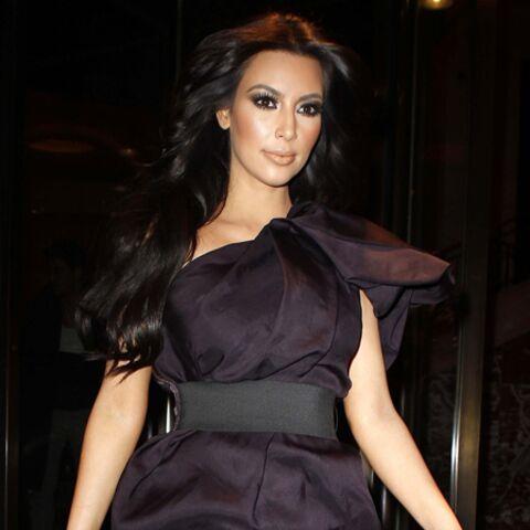 Kim Kardashian a des goûts simples