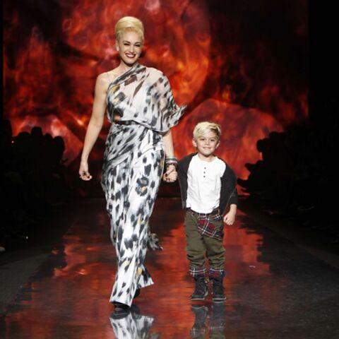 Kingston, mini-icône de mode grâce à maman