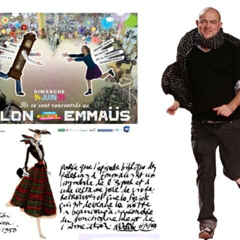 Christian Lacroix défile pour Emmaüs